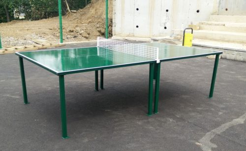 Metal net for table tennis