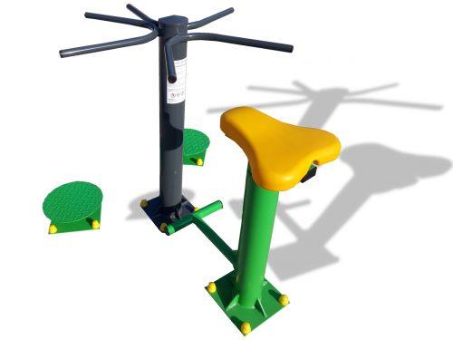 Комбинирани фитнес уреди за открито