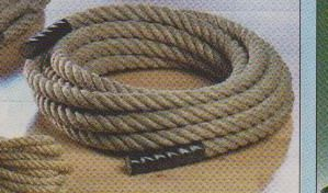 Ropes and accessories