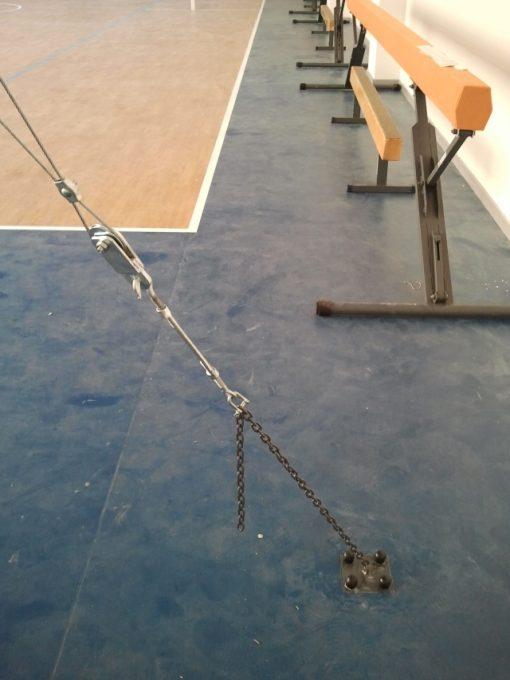 Станок за халки гимнастически-210