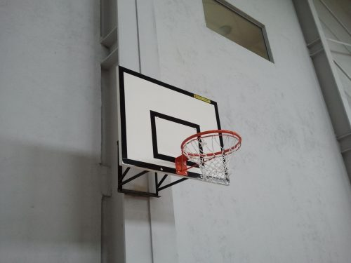 Basketball backboard made of fiberglass 120х90 cm-0