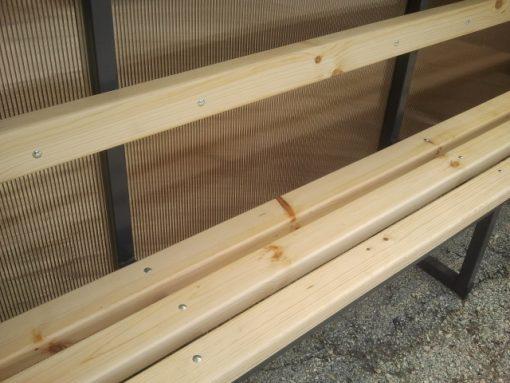 Покрита скамейка за резерви-93