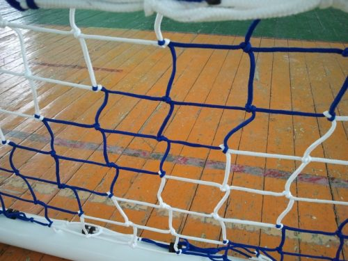 Football net 3x2 m, double colored-0