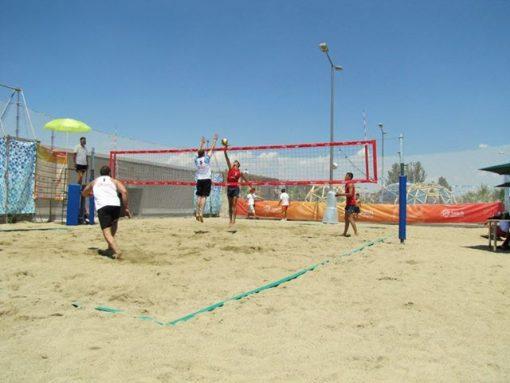 Стойки за плажен волейбол-673
