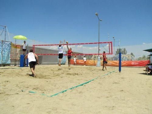 Персонализирана волейболна мрежа с рекламни лога-0
