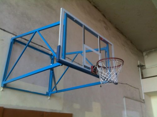 Foldable basketball stand-0