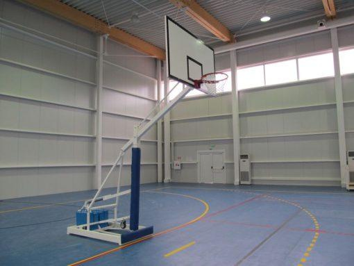 Basketball stand mobile, for sport halls-0