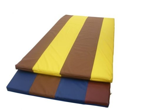 GYM MATTRESS POLYCOLOURED foam/pvc 200/100/6 cm-0