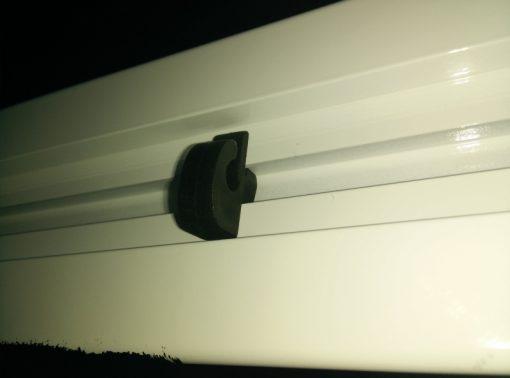 Врата хандбал/футбол 3x2 м, алуминиев профил 80х80 мм-751