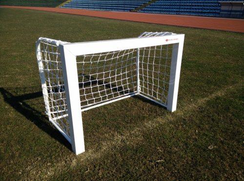 Врата мини-футбол 1,8х1,2 м, монолит, алуминиев профил 80х80-0