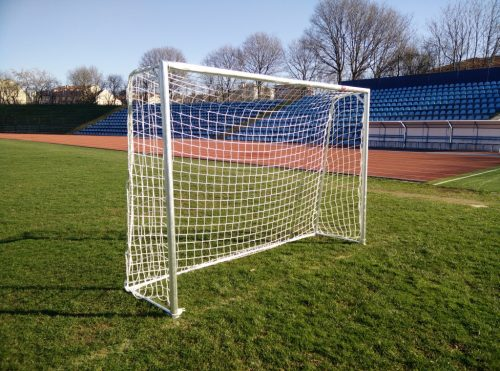 Football goal 3x2 m, 60 mm round steel profile-0