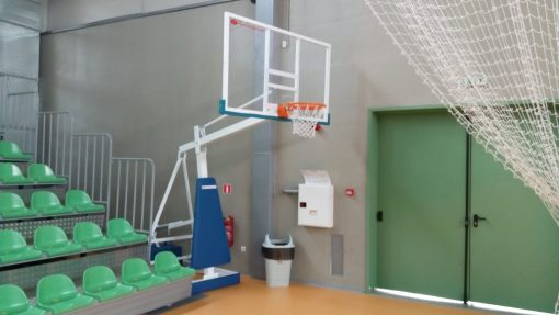 Basketball stand mobile, for sport halls-831