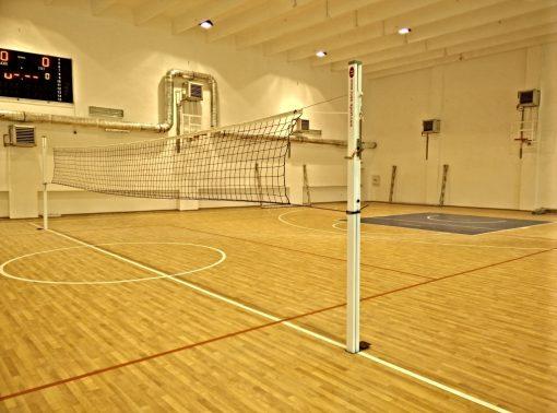 Стойки волейбол алуминиев профил 80х80 мм-0