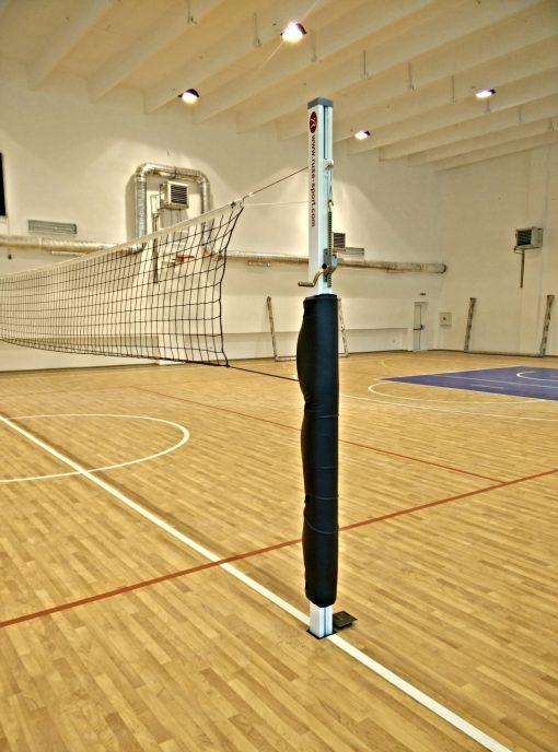 Стойки волейбол алуминиев профил 80х80 мм-868