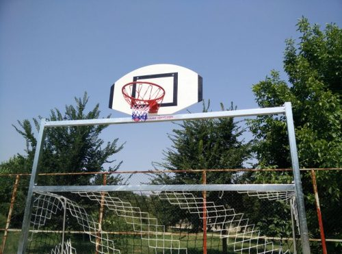 Plywood basketball backboards
