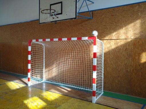 Врата хандбал/футбол 3x2 м, алуминиев профил 80х80 мм-1637