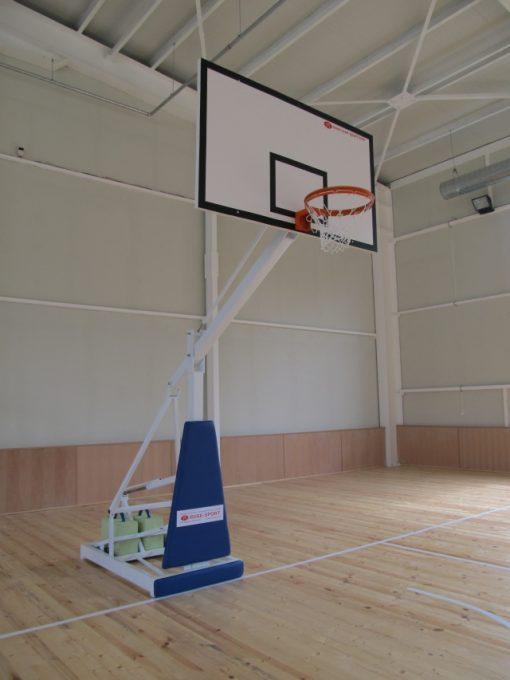 Basketball stand mobile, for sport halls-650