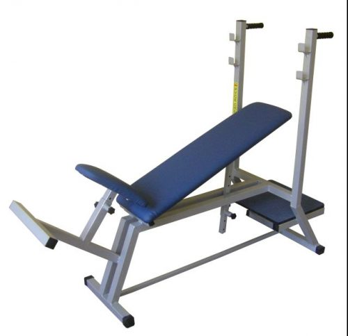 Inclined bench with adjustable height-0