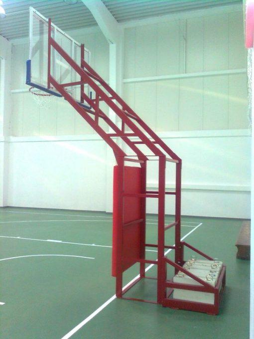Стойка баскетбол, решетъчна конструкция-13
