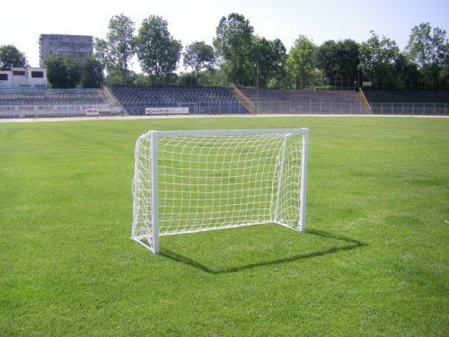 Врата мини-футбол 1,2x1,0 м, сгъваема, стомана-0