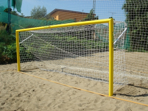 Мрежа плажен футбол 5,5х2,2 м-0