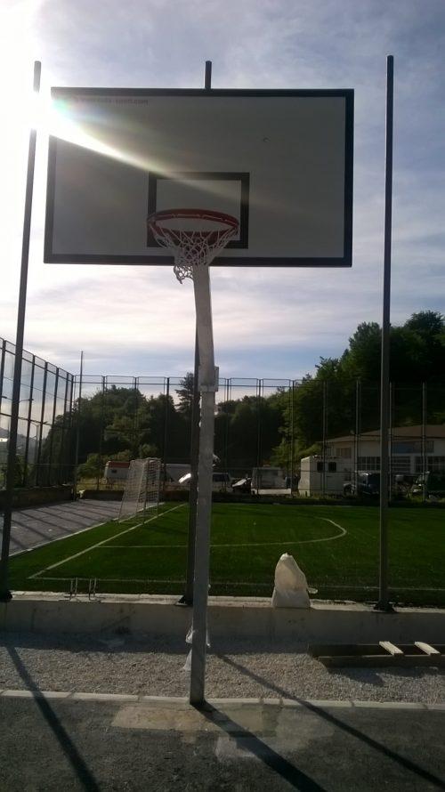 Стойка баскетбол пилон 120х120 мм-0