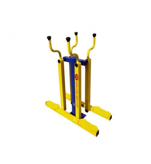 Double ski trainer-0