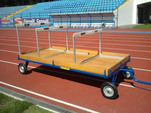 CART FOR HURDLES AND EQUIPMENT-0