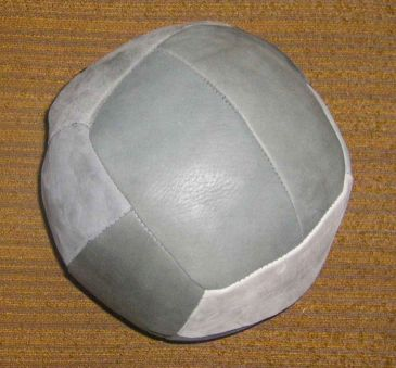 Medicine ball - real leather-0