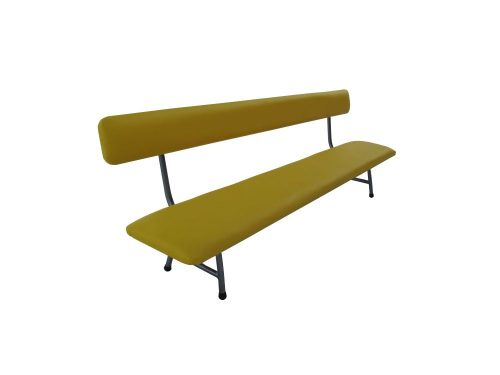 Upholstered bench with back 150 х 30 х 30 cm.-0