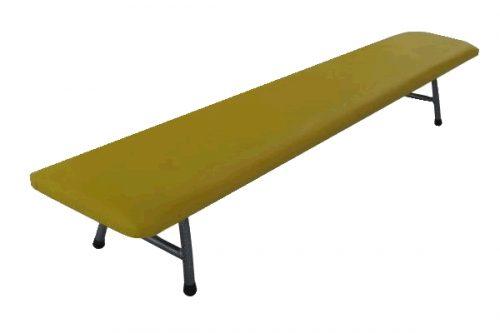Тапицирана пейка без облегалка 180х30х30 см-0