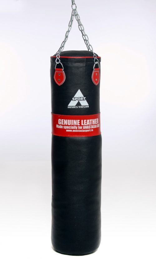 Boxing bag - real leather-0
