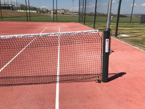 Стойки за тенис на корт от алуминий-0