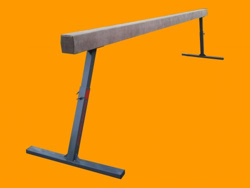 Gymnastic beam 5 m with telescopic height adjustment-0
