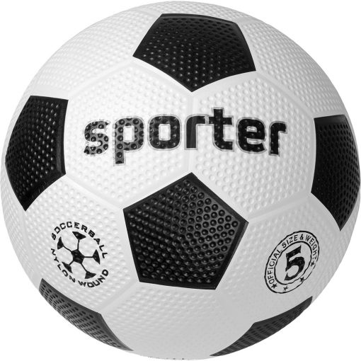 Футболна топка Sporter гумена-0