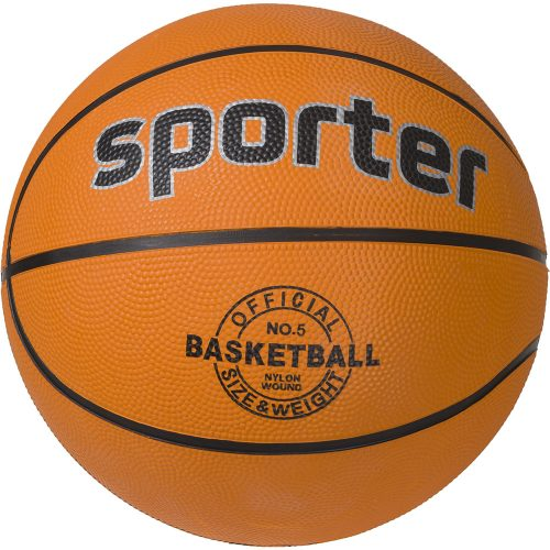 Баскетболна топка Sporter гумена-0
