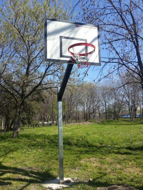 Стойка баскетбол пилон 100х100 -0