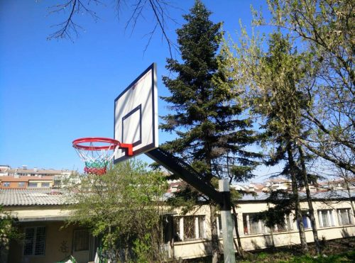 Fiberglass basketball backboards