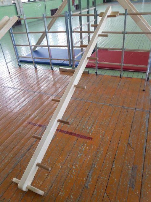 Zig zag ladder for wall bar-0