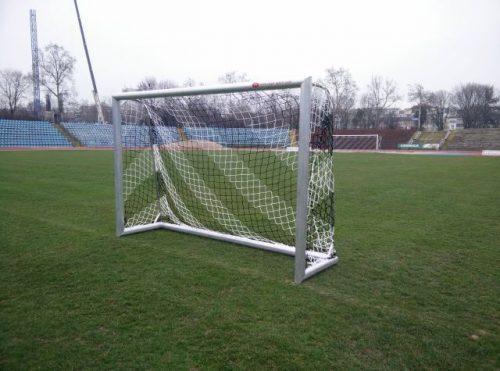 Soccer goal 3 x 2 M, all welded aluminium-0