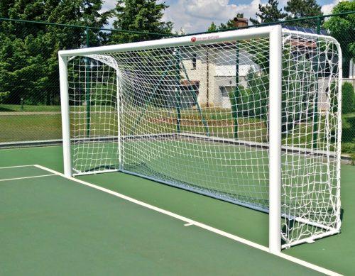 Soccer goal 5 х 2 м, aluminium 80 x 80 mm special profile-0