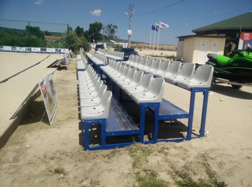 Tribunes with PVC seats - Kranevo, Bulgaria-0
