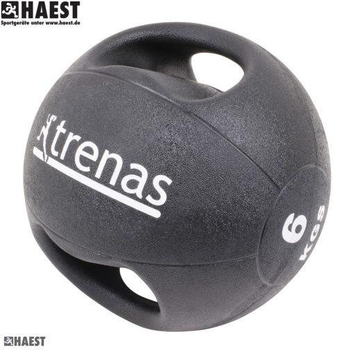 Медицинска топка с дръжки-0