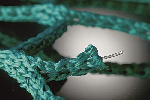 Антивандалски предпазни мрежи със стоманени нишки -0