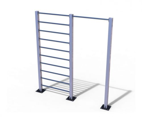 Wall bar with pull-up bar-0