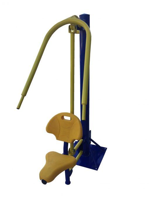Бодибилдинг машина за бутане единична-1323