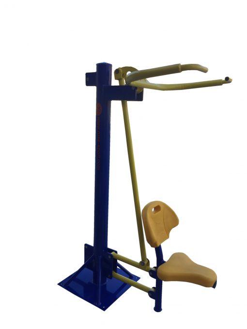 Бодибилдинг машина за теглене единична-1325