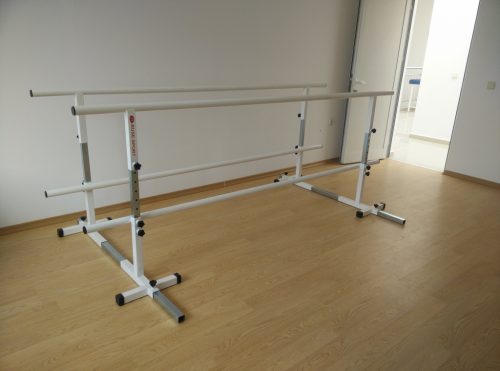 Parallel bars for rehabilitation with adjustable width-0