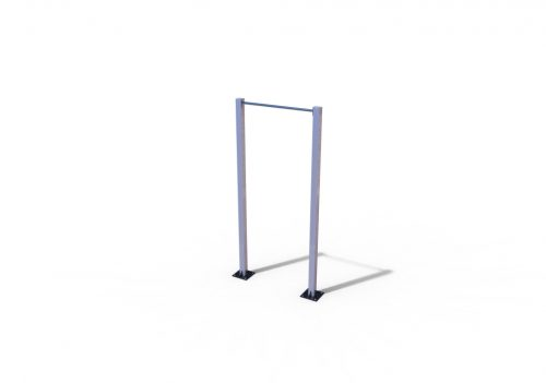 Single pull-up bar stainless-0