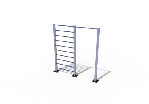 Wall bar with pull-up bar stainless-0